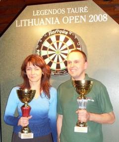 Nugalėtojai - Darius Labanauskas ir Areta Kovalevska